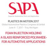 Oggi a Detroit, sul palco del Plastics in Motion - SAPA Superior Automotive Parts and Application