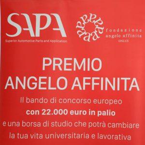 Premio Angelo Affinita l'opportunità universitaria e lavorativa di una vita intera- SAPA Superior Automotive Parts and Application