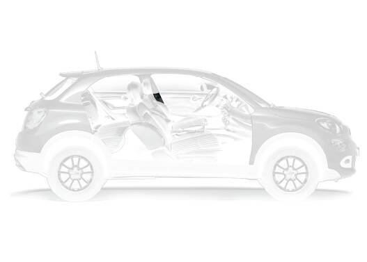 Slide Interni Fiat 500x Rivestimento Montante Centrale Inferiore